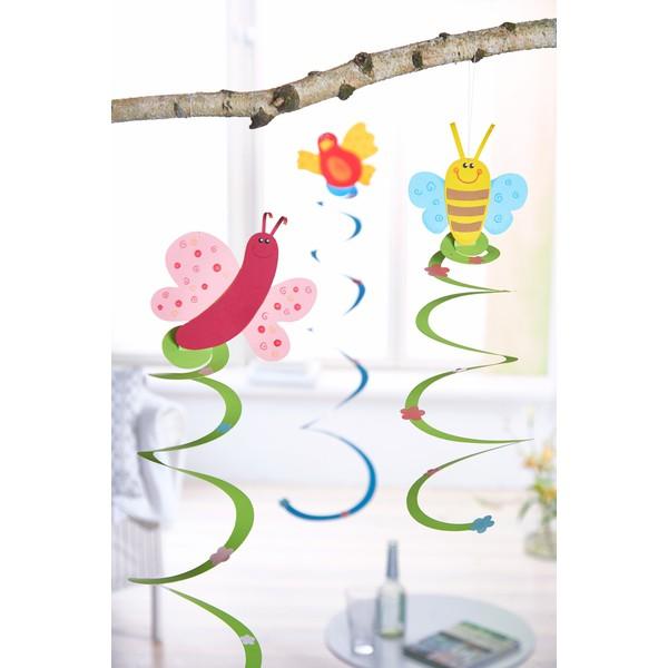 """Zrób to sam """"Papierowe spirale Wiosna"""", na 8 sztuk"""