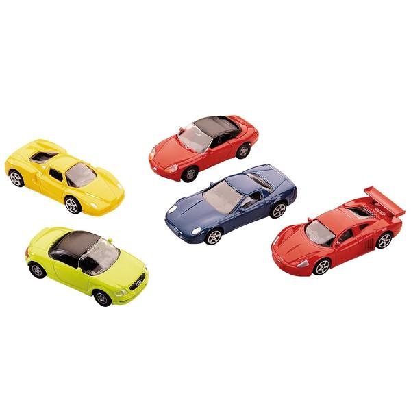 Zestaw samochodów wyścigowych