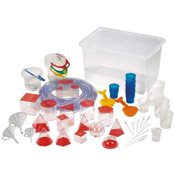 Zestaw do eksperymentów wodnych, 44 części