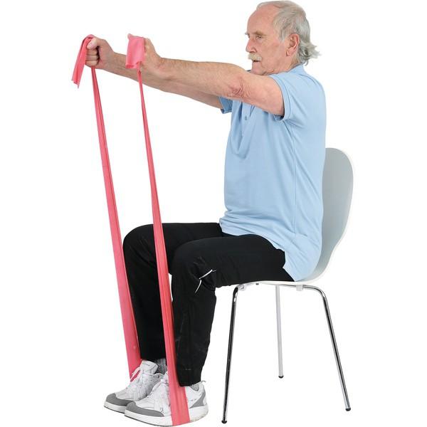 MSD - taśma do ćwiczeń oporowych (czerwona - średni opór)