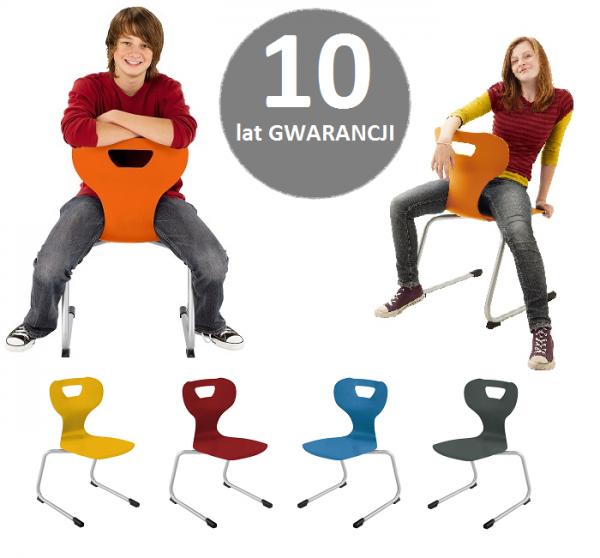 Krzesło szkolne solit:sit C wys.43 cm roz. 5