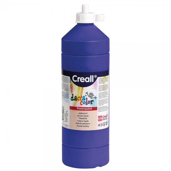 dacta color – Farby plakatowe na bazie wody, 1000 ml - ultramaryna