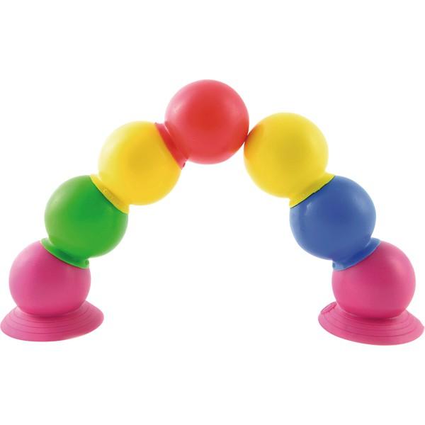 Piłki z przyssawkami, 28 sztuk