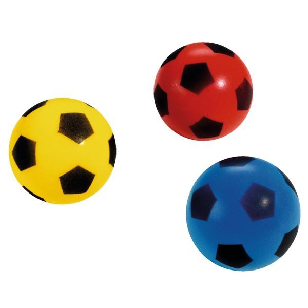 Miękkie piłki średnica 12 cm, 3 sztuki
