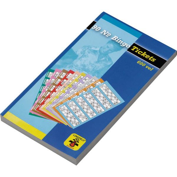 Karty do bingo, 600 sztuk