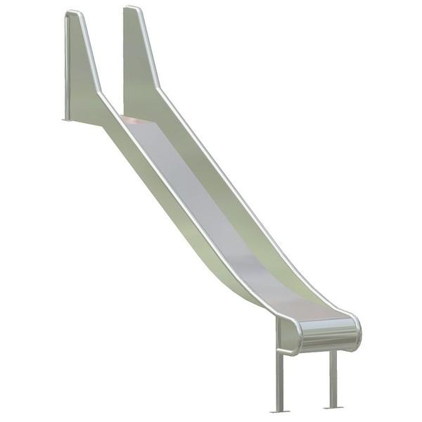 Zjeżdżalnia ze stali szlachetnej 270 cm