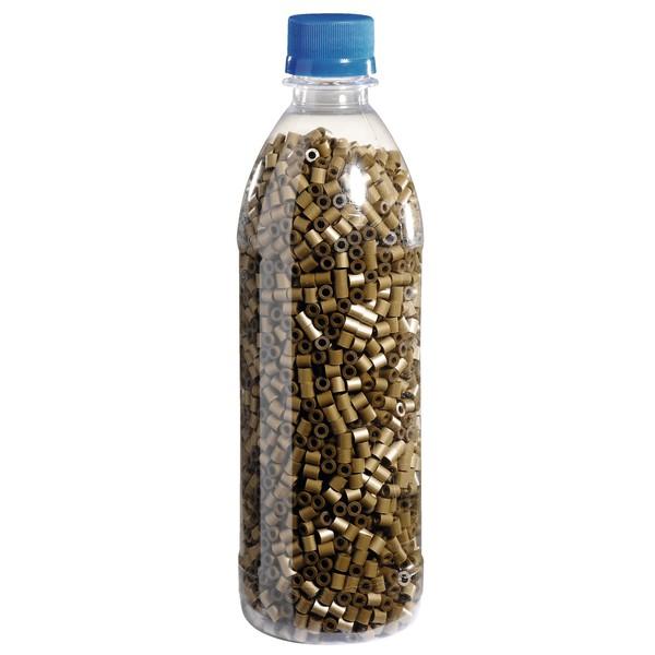 Koraliki do prasowania w butelce - złote