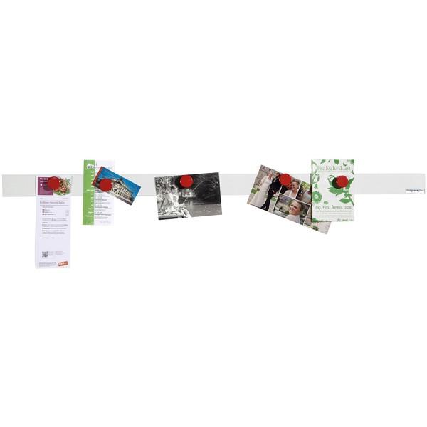 Listwy magnetyczne - samoprzylepne, 10 sztuk
