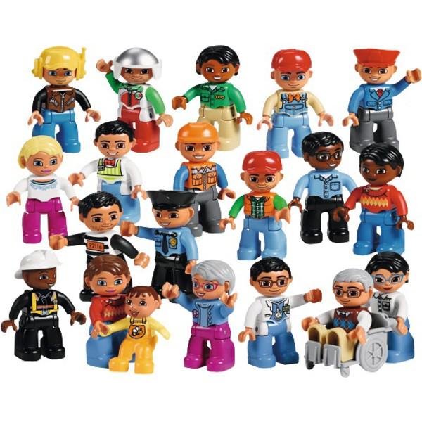 LEGO® DUPLO® Ludzie z sąsiedztwa zawody 20 figurek