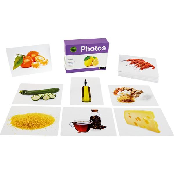 """Karty fotograficzne """"Produkty spożywcze"""", 70 kart"""