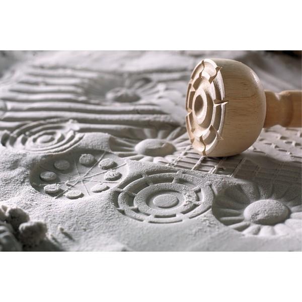 Stemple do masy modelarskiej lub piasku, 4 sztuki