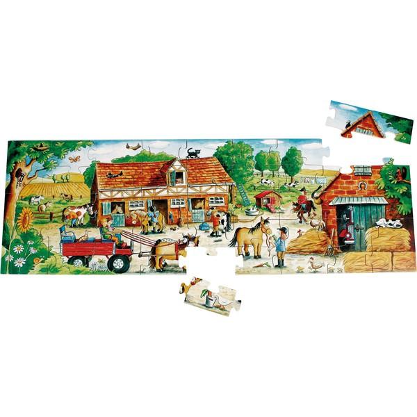 Duże puzzle dla małych rączek, 45 części