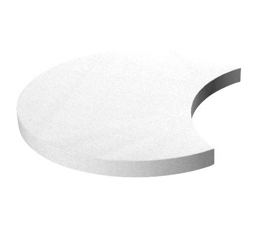 Półksiężyc, wys. 9 cm
