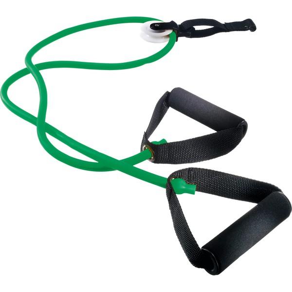 Rączki do ćwiczeń, zielone (mocny opór)