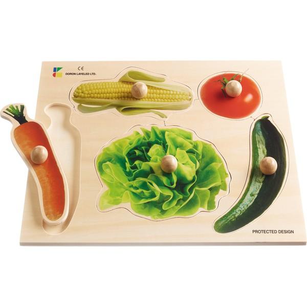 Puzzle z uchwytami Warzywa
