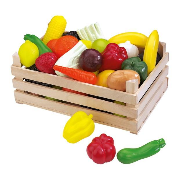 Asortyment warzyw i owoców , 42 elementy