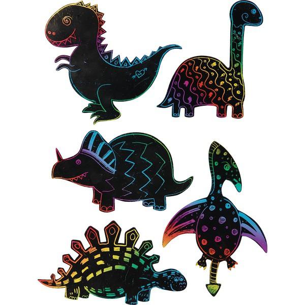 Zestawy zdrapywanek - Dinozaury