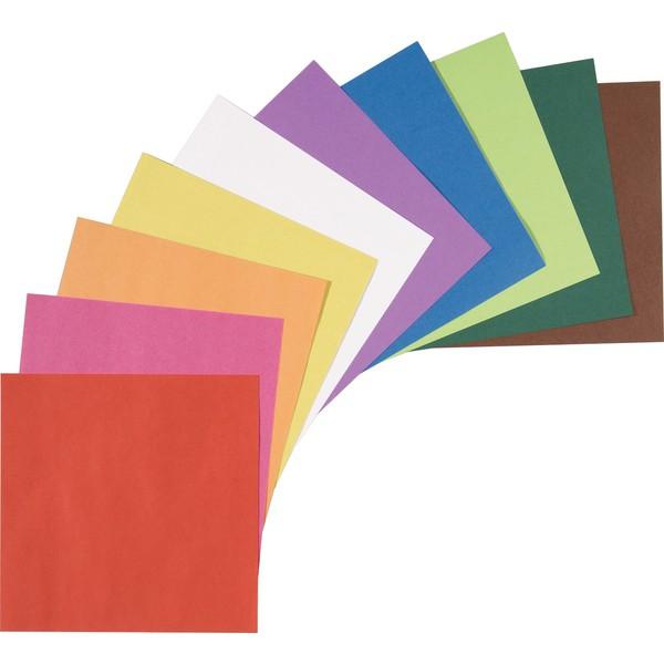 Kwadraty z kolorowego papieru do składania 7,5 x 7,5 cm, 500 sztuk