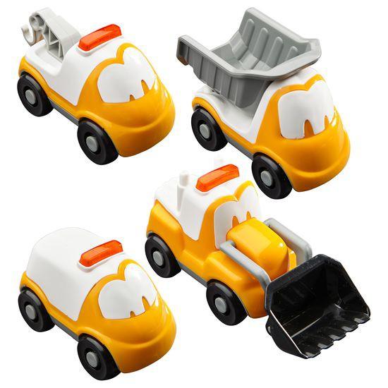 Zestaw samochodzików, 4 sztuki