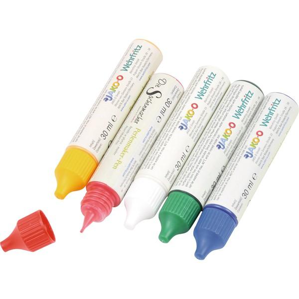 Perełki w płynie, 5 x 30 ml - zestaw 5 kolorów