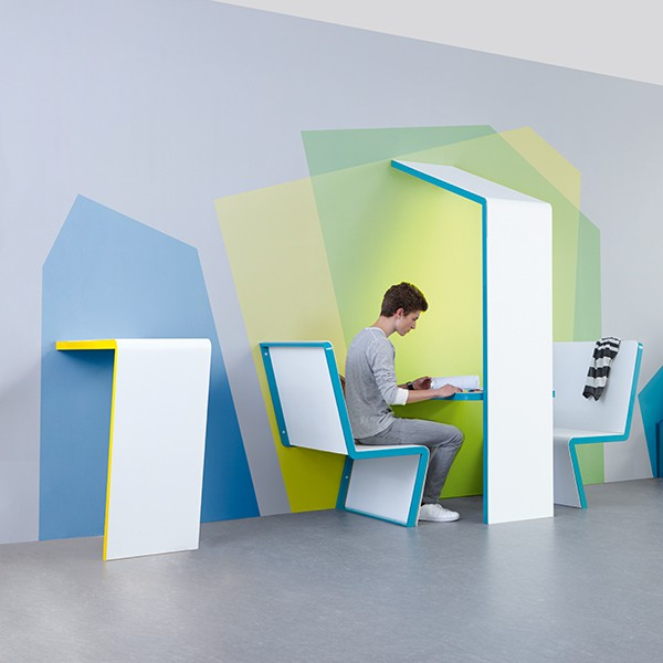 set.upp - Stół na korytarz szkolny