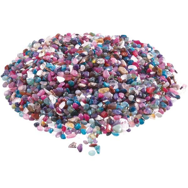 Kamienie ozdobne - opakowania mieszane, ok. 80 sztuk