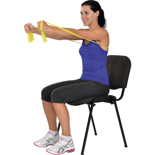 MSD - taśma do ćwiczeń oporowych (żółta - słaby opór)