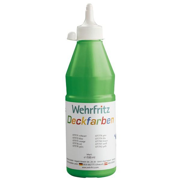 Kryjące farby Wehrfritz - kolor zielony