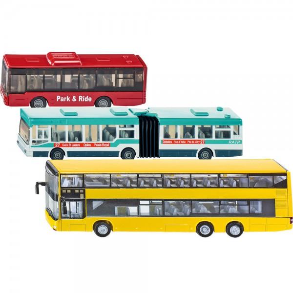 Zestaw autobusów - 3 szt.