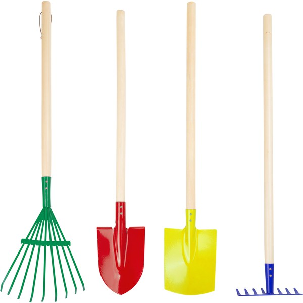 Zestaw narzędzi ogrodowych, 4 sztuki