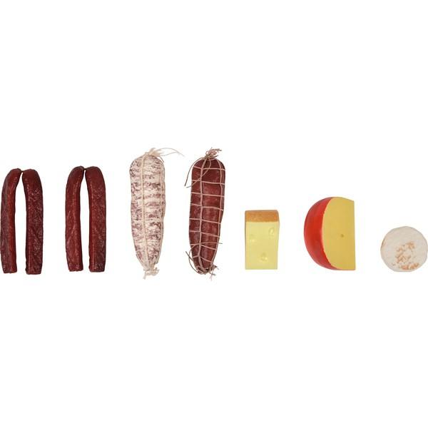 Asortyment wędlin i serów