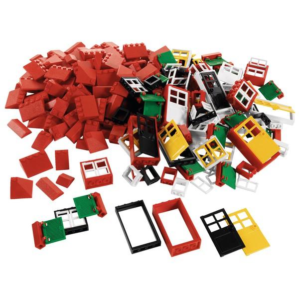 LEGO® Dachówki, drzwi, okna, 270 części