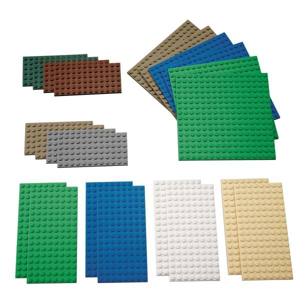 LEGO® Płytki do budowania, małe, 22 sztuki