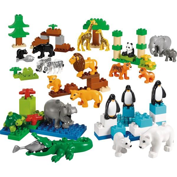 LEGO® DUPLO® Zestaw ZOO, 104 części