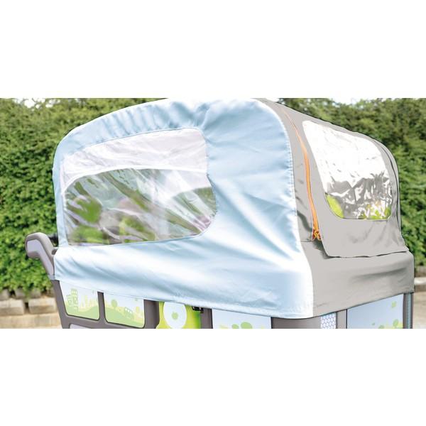 Ochrona przed deszczem i wiatrem do wózka żłobkowego Wehrfritz
