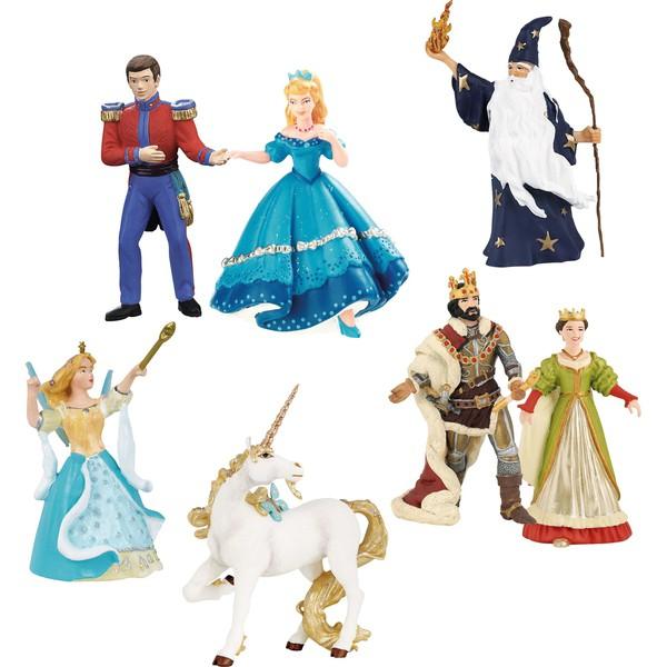 Zestaw figurek - Mieszkańcy zamku, 7 elementów