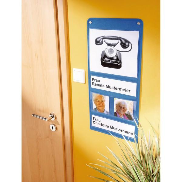 Szyld na drzwi - niebieski