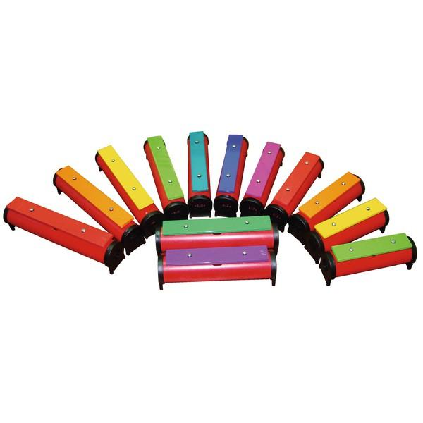 Kolorowe sztabki grające