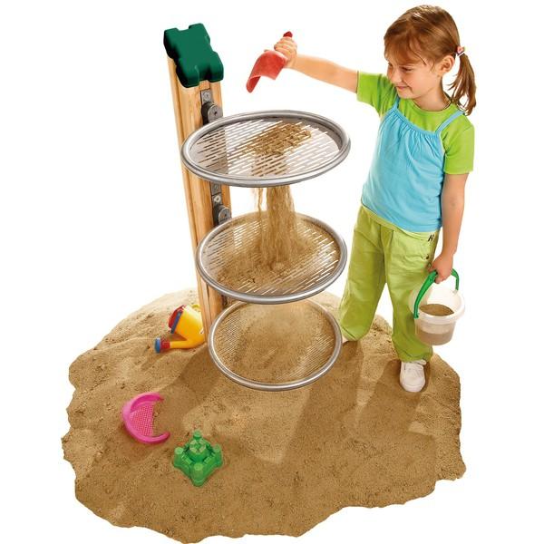 Sita do piasku, bez podpory - słupka