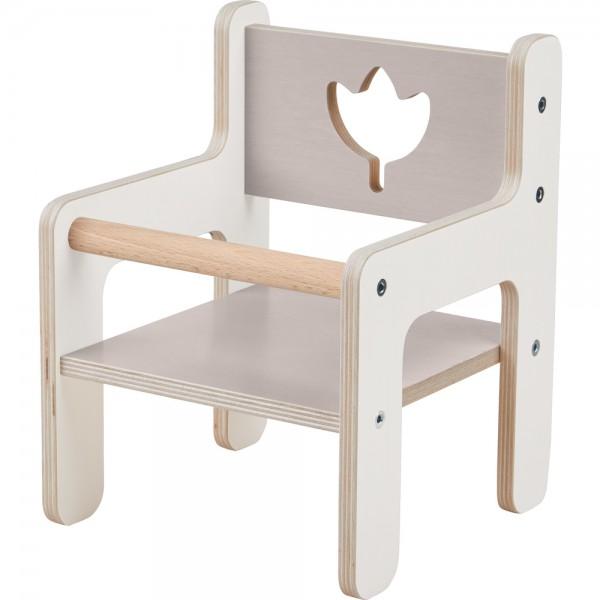 Krzesełko dla lalek Tulipany