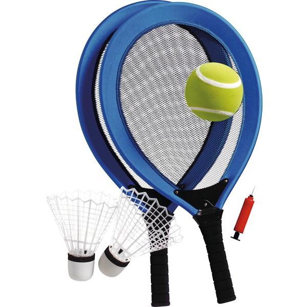 Zestaw do tenisa Jumbo, 6 części