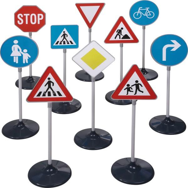 Zestaw znaków drogowych, 10 części