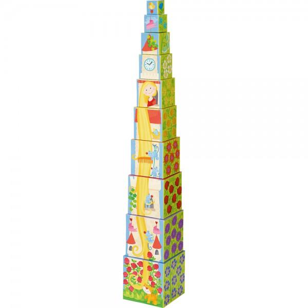 Wieża z kostek Roszpunka
