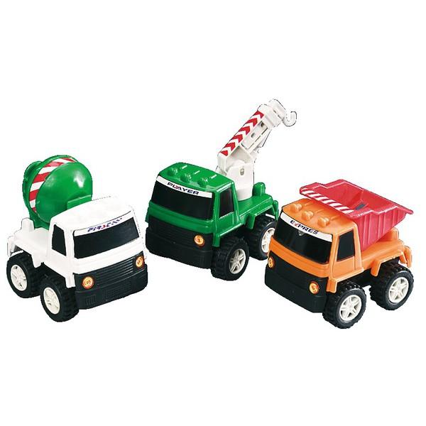 Pojazdy budowlane - zestaw, 36 części