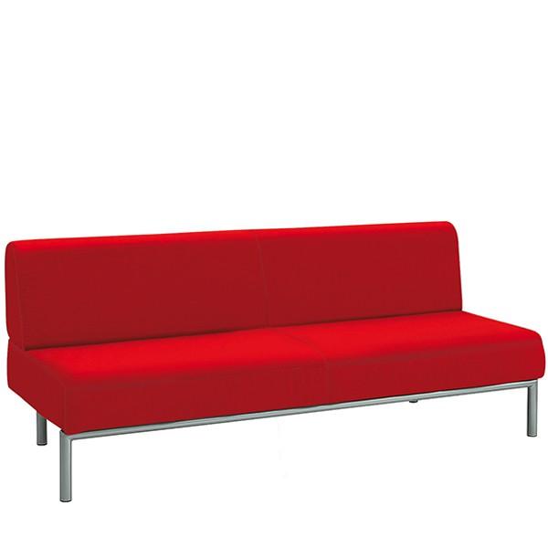 """Sofa szkolna """"Rebello"""" 3-osobowa - sztuczna skóra"""