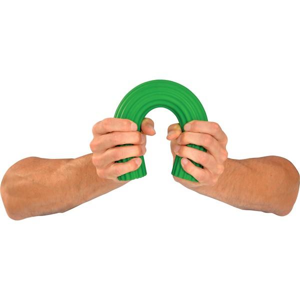 Wałek do ćwiczeń, elastyczny, zielony - mocny