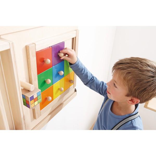 """Ścianka sensoryczna """"Kolorowe kwadraty"""""""