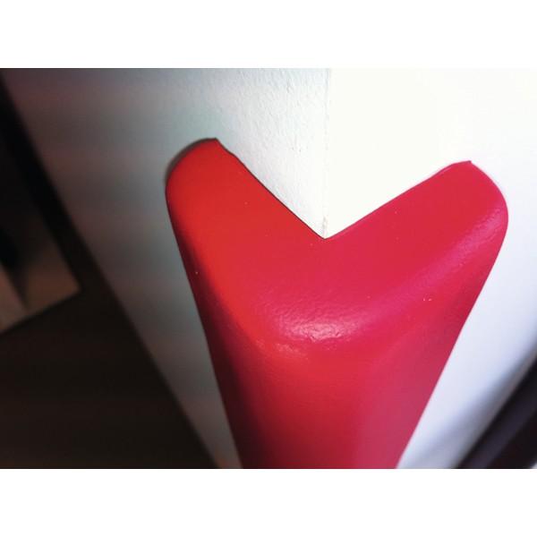 Ochrona na kanty - z pianki, czerwona