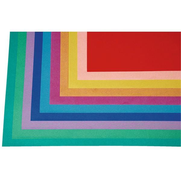 Bibuła o trwałych kolorach, 50 arkuszy