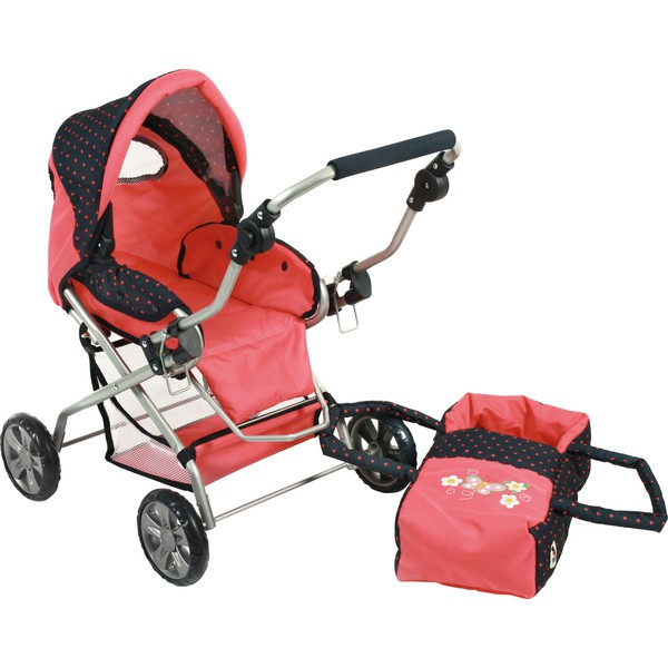 Wózek dla lalek kombi Piccolina